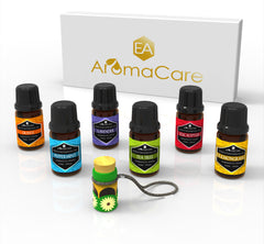 EA AROMACARE TOP 6 ESSENTIAL OILS GIFT SET WHITE BOX
