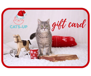 Holiday Cat Gift Card