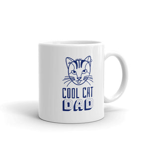 Cool Cat Dad Mug