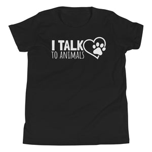 I Talk To Animals - Youth Short Sleeve T-Shirt