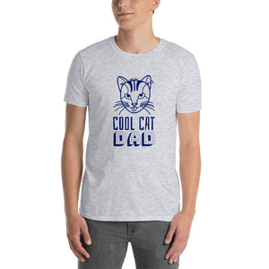 Cool Cat Dad Short-Sleeve T-Shirt