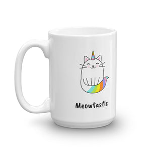 Meowtastic Unicorn Cat Mug
