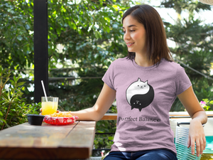 Purrfect Balance Cat T-Shirt