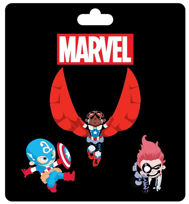 Captain America Pin Set