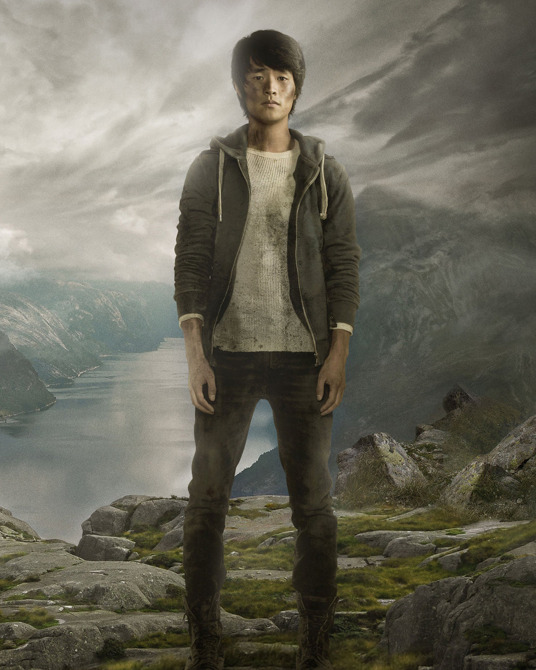 Christopher Larkin Autograph - The 100
