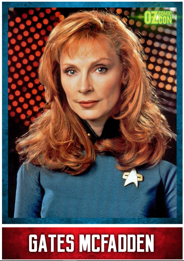 Gates McFadden A1 OCC Event Poster with Autograph - Brisbane 2018