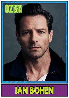 Ian Bohen A1 OCC Event Poster with Autograph - Sydney 2017