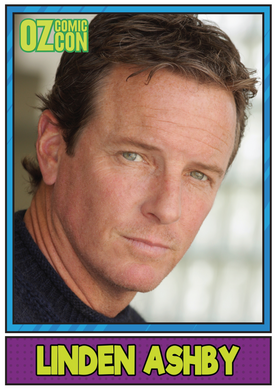 Linden Ashby A1 OCC Event Poster with Autograph - Sydney 2017