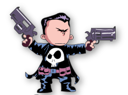 Marvel Individual Pins - Punisher