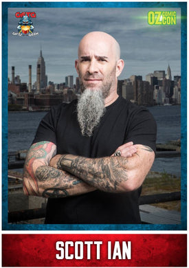 Scott Ian A1 OCC Event Poster with Autograph - Brisbane 2018