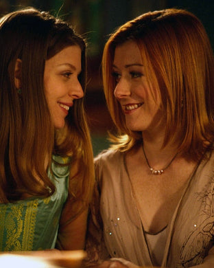 Alyson Hannigan and Amber Benson Autograph - Buffy