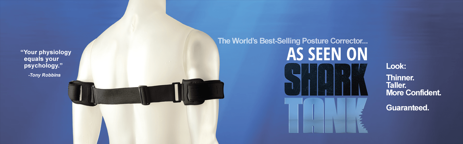PostureNOW is the best-selling posture brace in the world