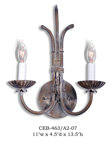 Other Metal Sconce - CEB-0463/A2-07Sconce - Graham's Lighting Memphis, TN