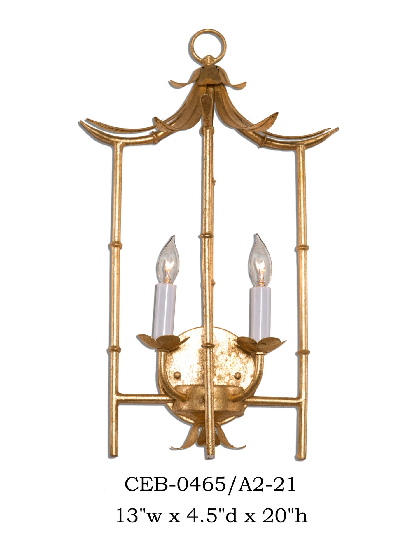 Other Metal Sconce - CEB-0465/A2-21Sconce - Graham's Lighting Memphis, TN