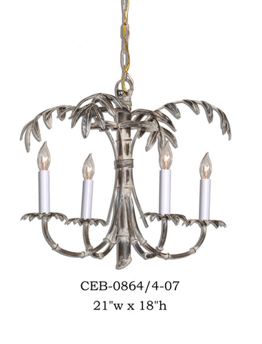 Other Metal Chandelier - CEB-0864/4-07Chandelier - Graham's Lighting Memphis, TN