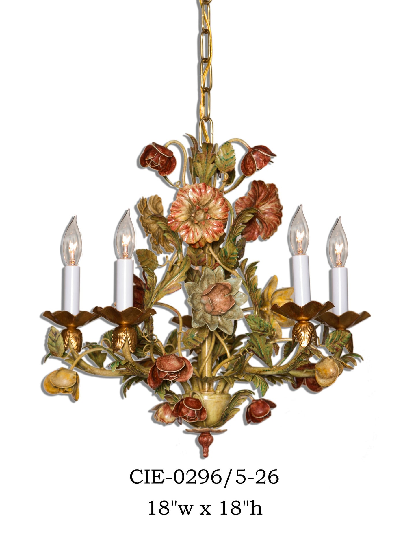 Other Metal Chandelier - CIE-0296/5-26Chandelier - Graham's Lighting Memphis, TN