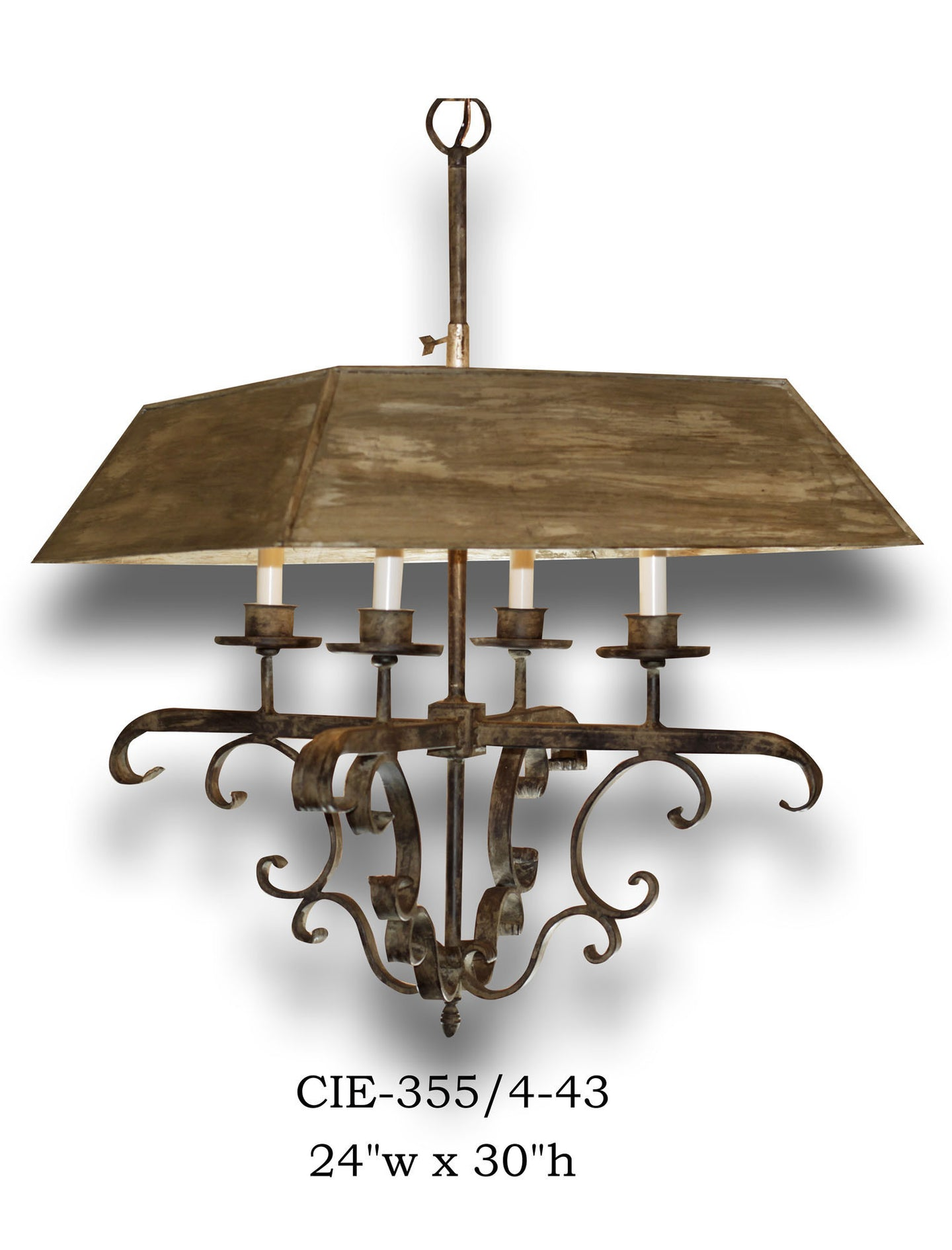 Other Metal Chandelier - CIE-0355/4-43Chandelier - Graham's Lighting Memphis, TN