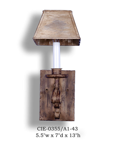 Other Metal Sconce - CIE-0355/A1-43Sconce - Graham's Lighting Memphis, TN