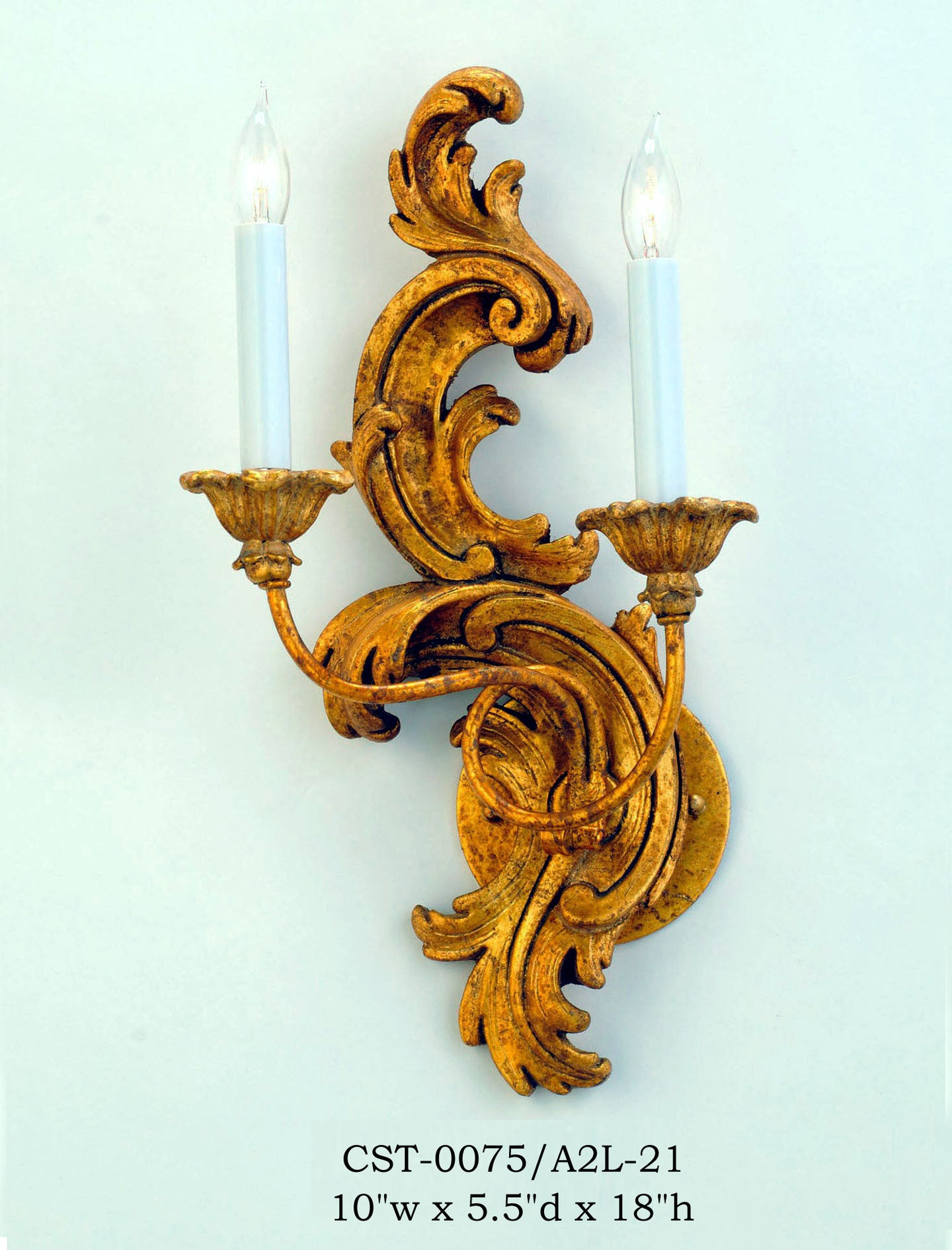 Wood Sconce - CST-0075/A2L-21Sconce - Graham's Lighting Memphis, TN