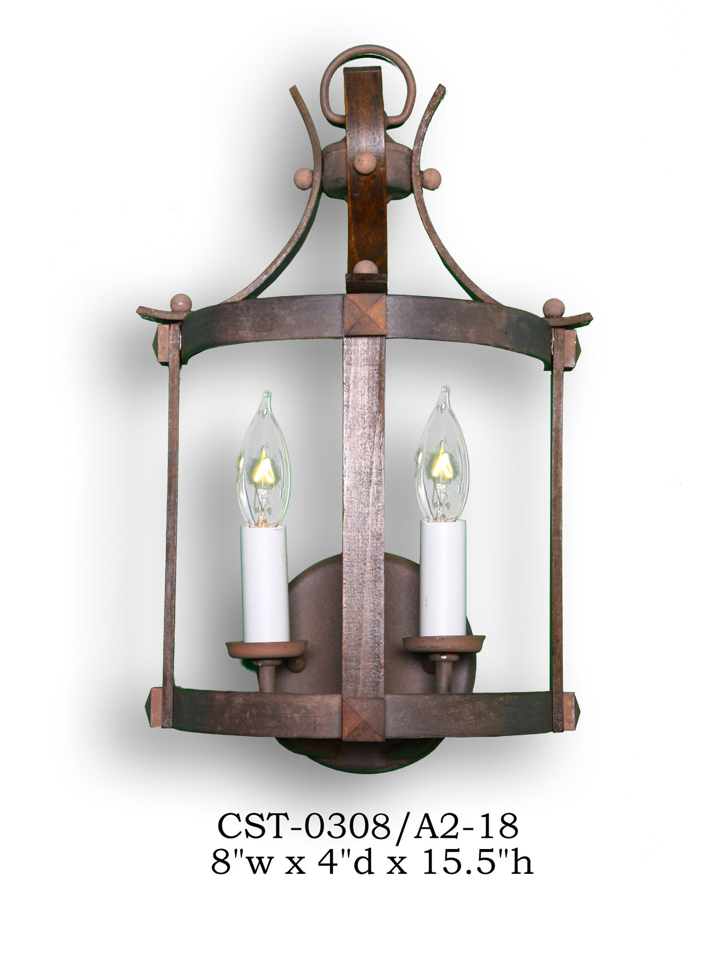 Wood Sconce - CST-0308/A2-18Sconce - Graham's Lighting Memphis, TN