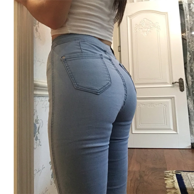 thepublisher,Vintage High Waist Denim Women Jeans,Acapparelstore,Women's Jeans