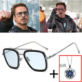 thepublisher,Tony Stark Iron man Fashion Avengers Style Sunglasses UV400,Acapparelstore,Men's Sunglasses