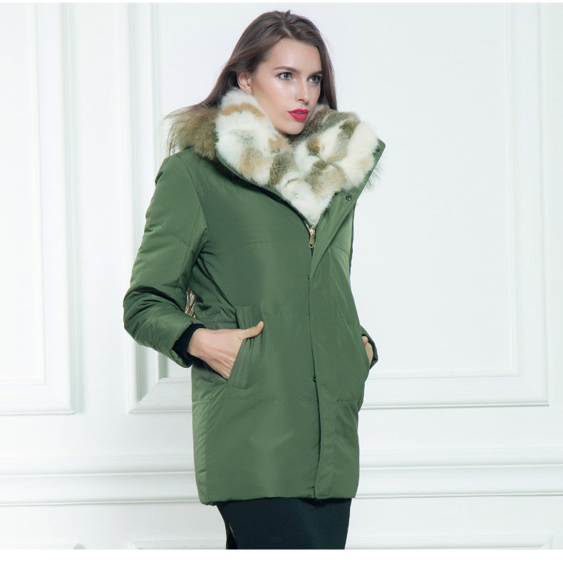 thepublisher,Men's women duck down parkas warm Liner winter jacket-Rabbit fur,Acapparelstore,Coats & Jackets