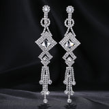 Women's Crystal Rhinestone Fashion Earrings