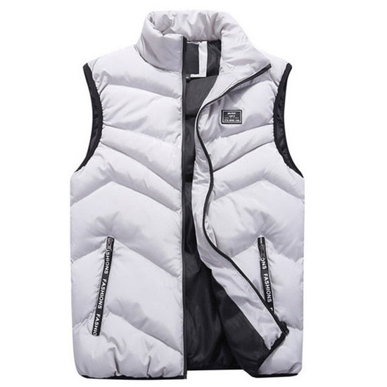 High Quality Spring/Winter Men's Sleeveless Waistcoat Warm Vest.