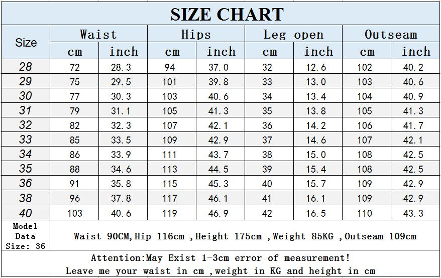 Men's Black Jeans Business Fashion Classic Style Elastic Slim Straight Trousers.