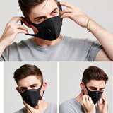 Waterproof Polyester Fiber Protective Mask With Breathing Valve Built-In.