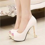 thepublisher,High quality summer spring peep toe simple shoes,Generalmarketstores,Women Shoes