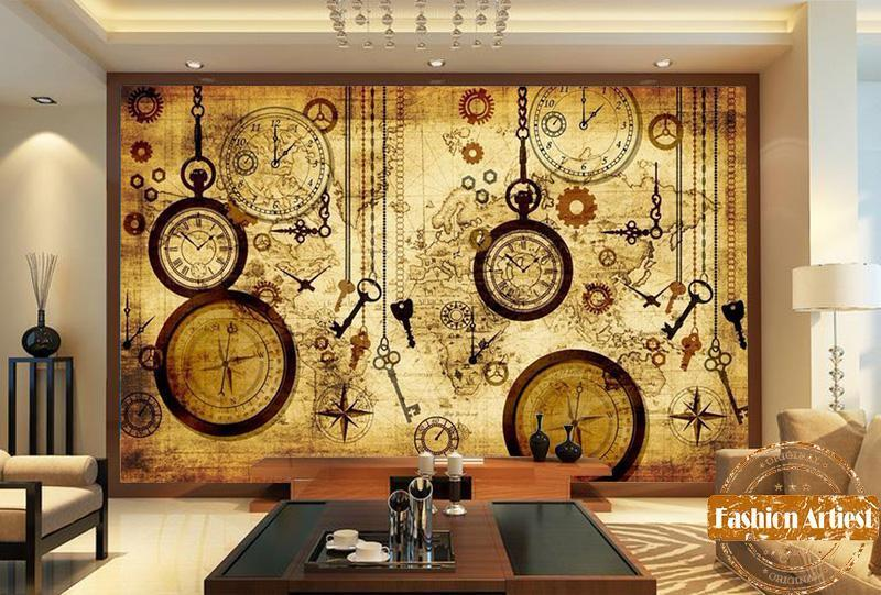 thepublisher,Travel world map wallpaper for living room,Generalmarketstores,Bamboo Watches