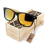Style Vintage Black Square Sunglasses in Box.