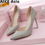 thepublisher,High Heels Shoes Pointed Toe Thin Heel,Generalmarketstores,Women Shoes