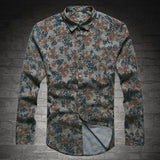 thepublisher,New Fashion Casual Men Shirt-Long Sleeve Europe Style Slim Fit Shirt,Acapparelstore,Shirts
