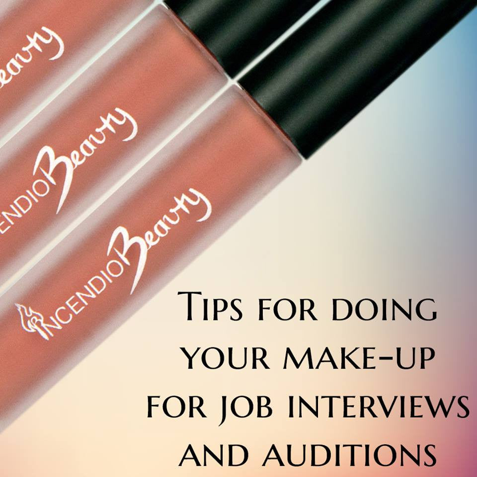 Tips For Doing Your Make-Up for Job Interviews & Auditions