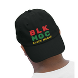 BLK MGC Embroidered  Dad hat