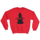 Namaste in Black Sweatshirt