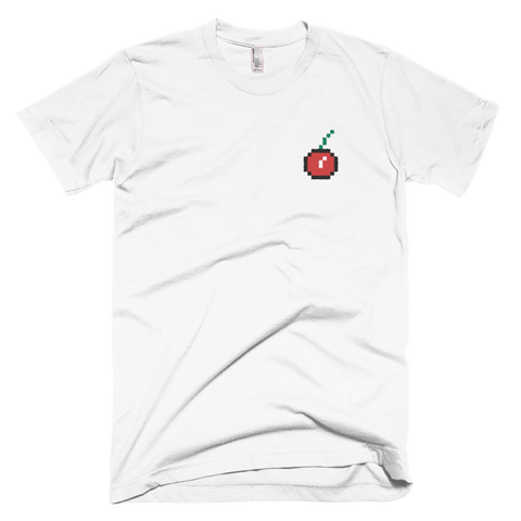 8Bit Cherry - Embroidered T-Shirt