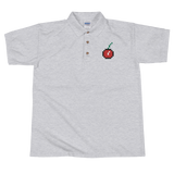 8Bit Cherry - Embroidered Polo Shirt