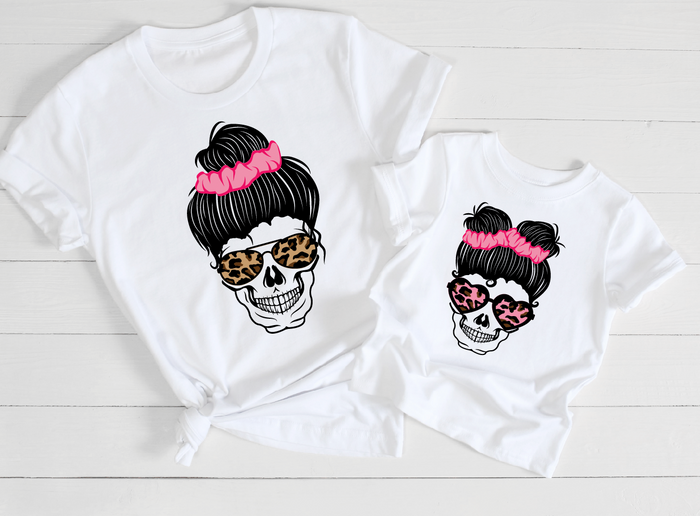 Mommy & Me Skulls- DAUGHTER
