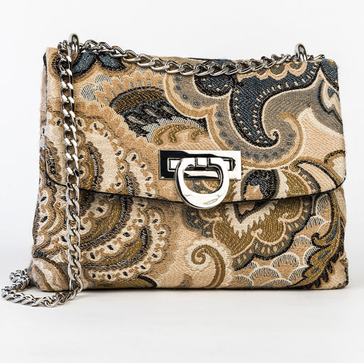 Sophia Mini Jacquard Mini Bag