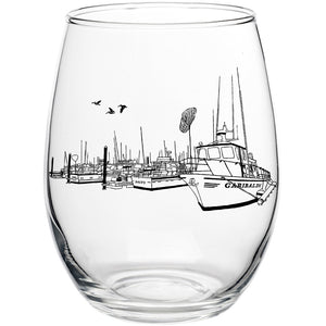 Garibaldi Port Stemless Wine Glass
