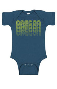 Oregon Fade One Piece - Infant Indigo