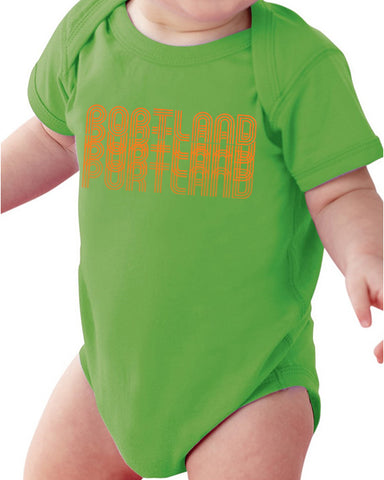 Portland Fade One Piece - Infant Apple Green