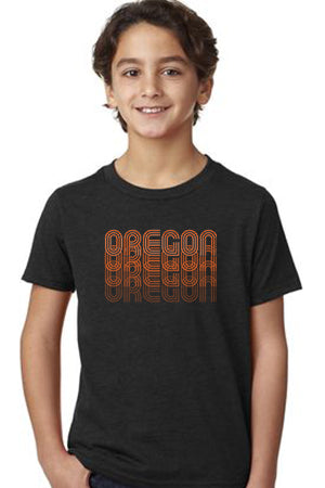 Oregon Fade T-Shirt - Toddler Black
