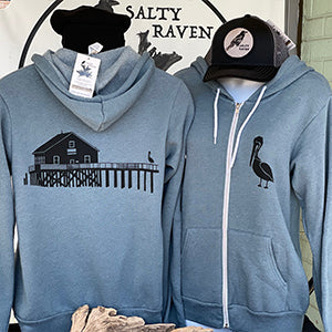 Boathouse Buddy Ultra Soft Zip up Hoodie - Unisex Heather Slate