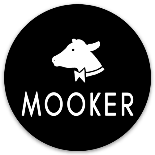 "Mooker Sticker 2.5"" Round"