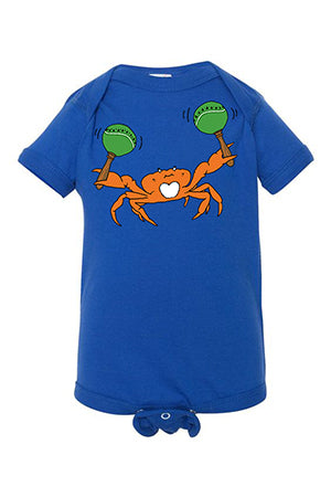 Crabarita One Piece - Infant Royal